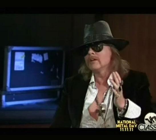 That Metal Show entrevistó a Axl Rose. - Guía comercial de Villa Devoto, el  Portal de Devoto y sus alrededores 🙉